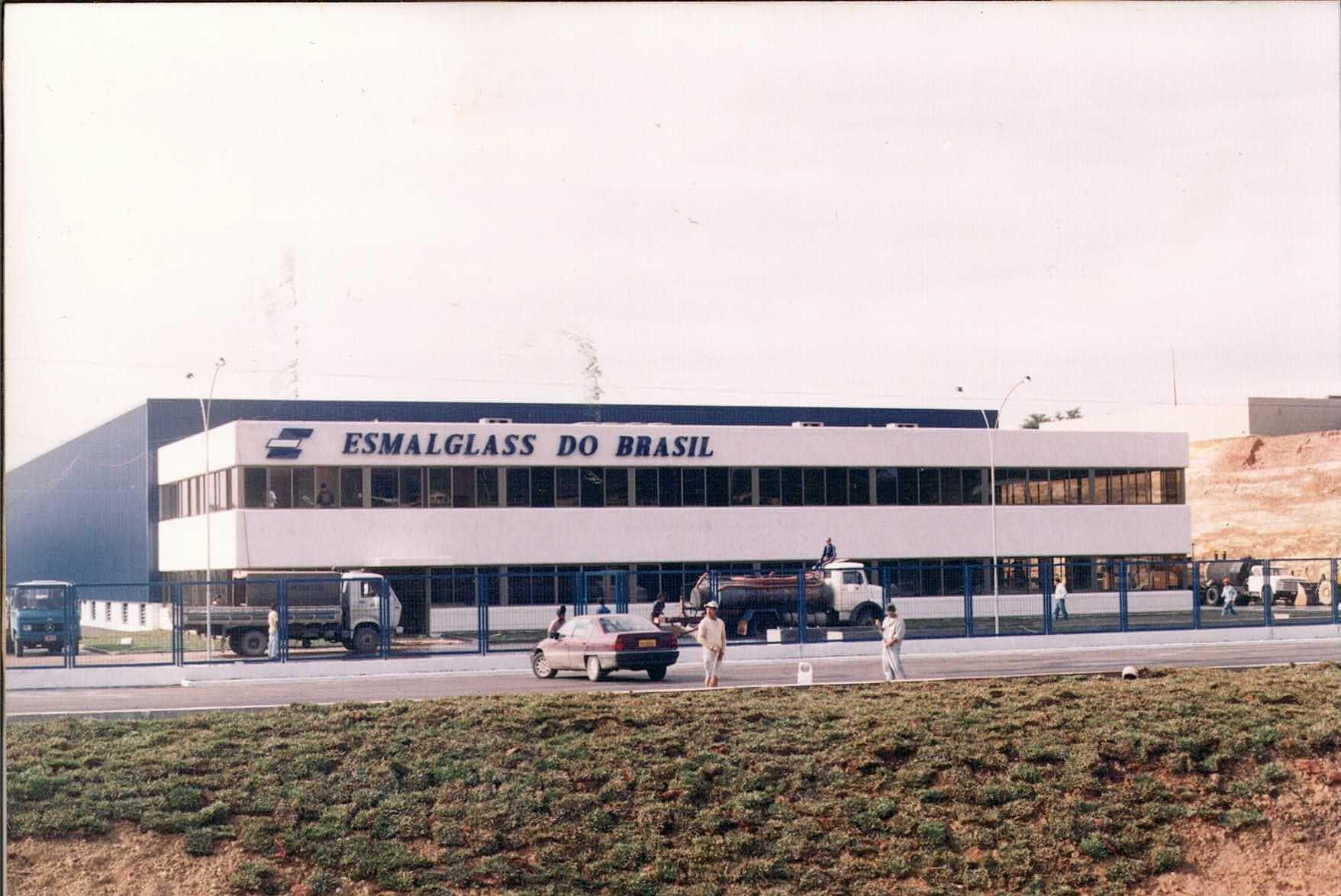 Sede Esmalglass Morro da Fumaça/SC - 1994